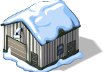 Cargo Shed snow
