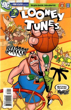Cover for Looney Tunes #135