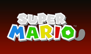 First SuperMario3DLand logo
