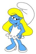 Smurfette Cartoon 2