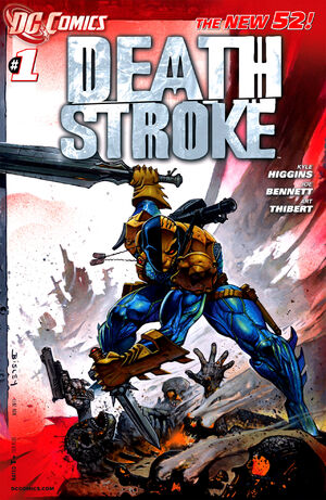 Cover for Deathstroke #1