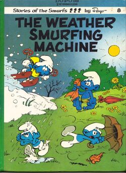 Weather Smurfing Machine Comic