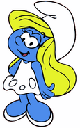 Smurfette Cartoon