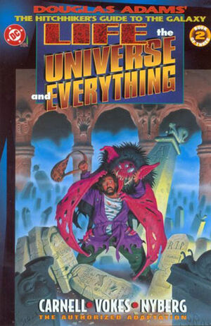 Cover for Life, the Universe and Everything #2