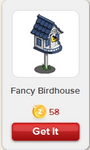 Fancy Birdhouse Rewardville unlocked