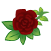 Dark Red Roses-icon