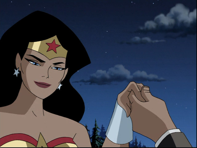 Wonder Woman Beaten Justice League Portal: Justice...