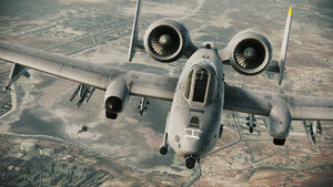 A10A Over Oilfields