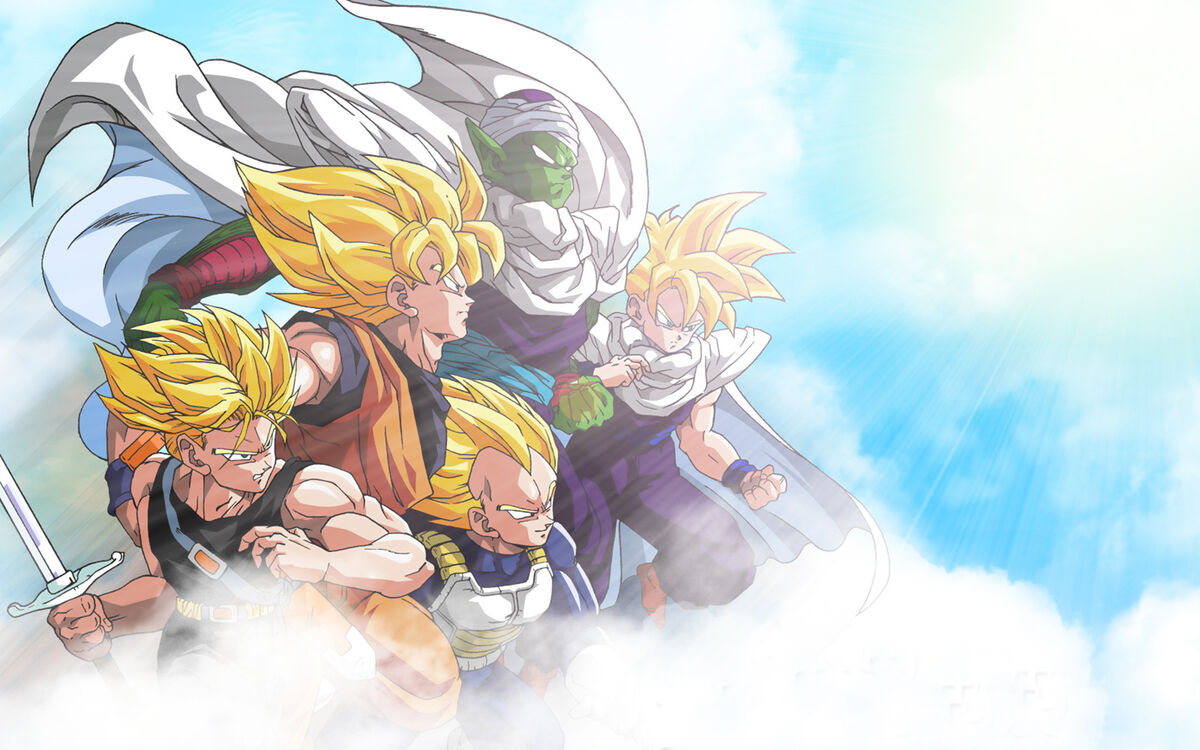 731 - dragonball gohan goku piccoro trunks vegeta wallpaper