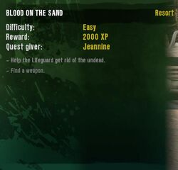 Quest Blood on the Sand 2