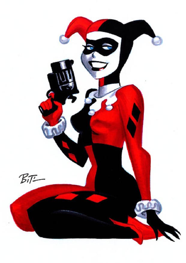 Opinion. batman harley quinn still