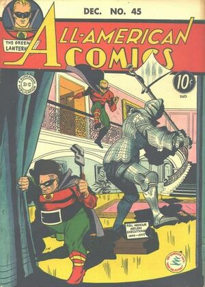 Cover for All-American Comics #45