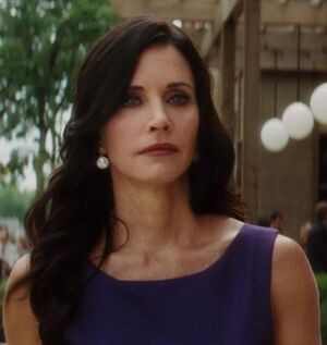 COURTENEY COX AS GALE RILEY IN SCREAM