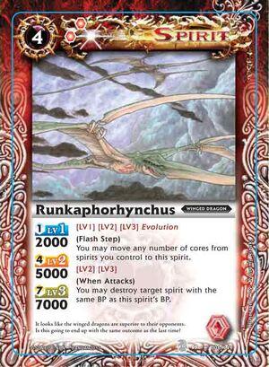 Battle spirits Set 3  300px-Runkaphor2