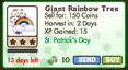 Giant Rainbow Tree Market-info