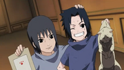 Uchiha Brothers as kids