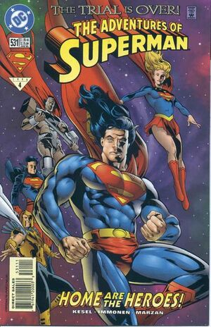 Cover for Adventures of Superman #531
