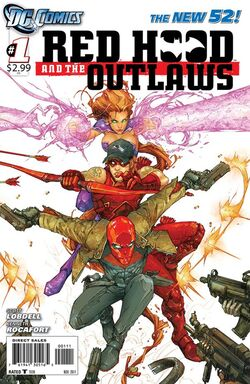 Red Hood and The Outlaws Vol 1-1 Cover-1