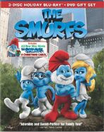 Smurfs Movie Bluray Cover