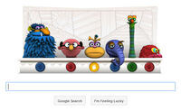 GoogleDoodle-JimHenson&#39;s75th-(2011-09-24)
