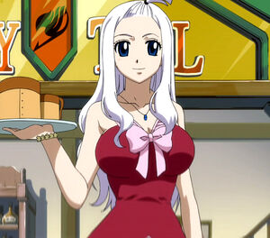 Mirajane when she was first introduced