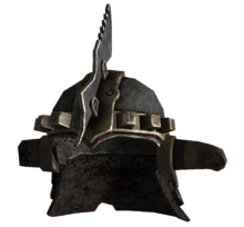 Marked beast helmet