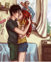 Harry and Ginny LUV