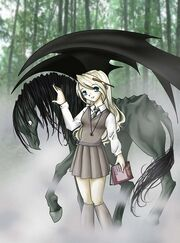 Luna and a thestral