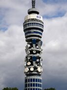 Lego BT Tower