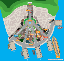 Map of Castelia City