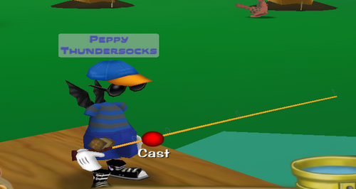 Gold rod toontown wiki for Toontown fishing guide