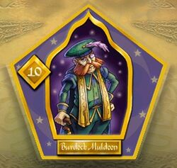 Burdock Muldoon - Chocogrenouille HP1