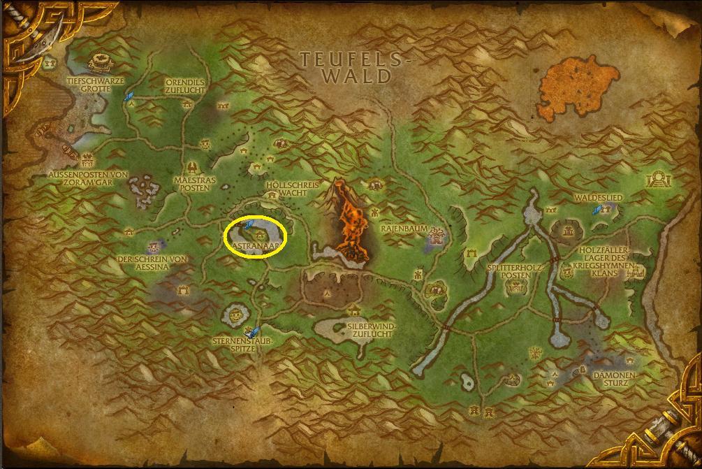 Astranaar     Forscherliga-Wiki   World of Warcraft   WoWAstranaar