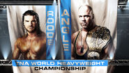 Bobby Roode vs. TNA World Heavyweight Champion Kurt Angle (Title Match)