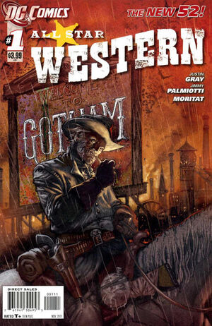 Cover for All-Star Western #1 (2011)