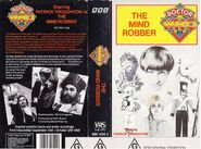 The Mind Robber VHS Australian folded out cover
