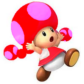 Fire flower toadette