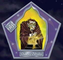 Chauncey Oldridge - Chocogrenouille HP2