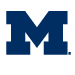 The University of Michigan-logo
