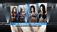 3 4-Way TNA Knockout's Championship Match (Winner )