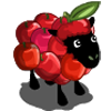 Animal sheep apple icon