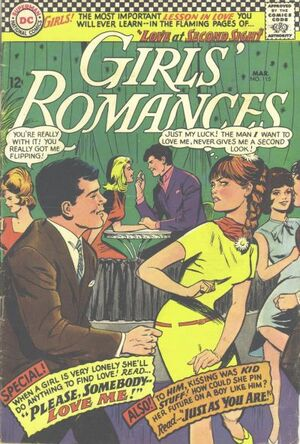 Cover for Girls' Romances #115