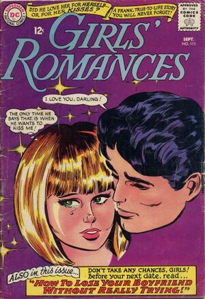 Cover for Girls' Romances #111