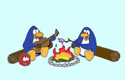 Camp Penguins Color