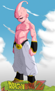 Kid Buu by shadsonic2