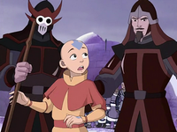 Aang&#39;s capture