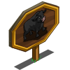 Black Angus Bull Mastery Sign-icon