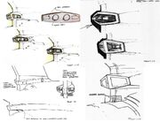 USS Enterprise refit torpedo lanchers design evolution by Andrew Probert
