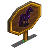Glow Skeleton Horse Mastery Sign-icon