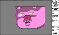 Modelsheet pigwithdramaticlighting - specialpose